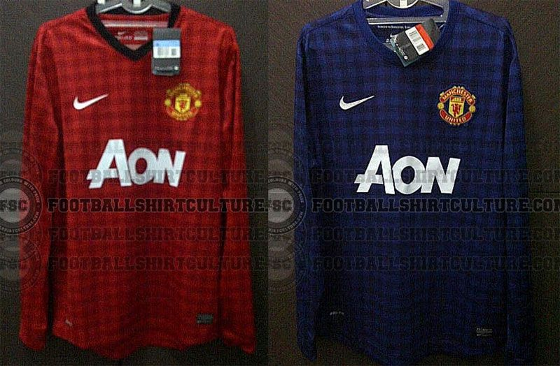 Maglie Manchester United 2012-2013 Nike