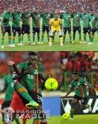 Zambia maglia away 2012 Nike