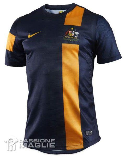 Australia seconda maglia 2012 Nike