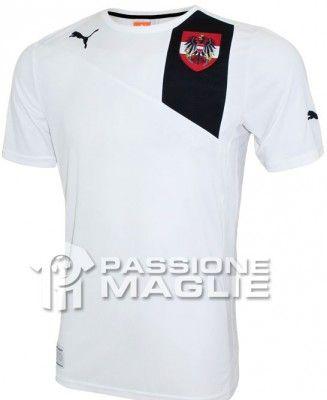 Austria seconda maglia Puma 2012