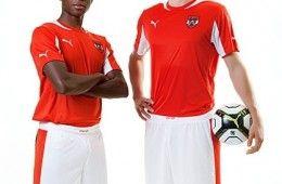 Kit Austria 2012-2013 Puma