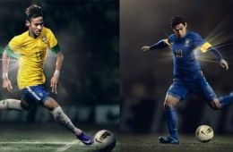 Divise Brasile home-away 2012-2013