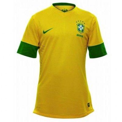 Brasile casacca home 2012-2013 Nike