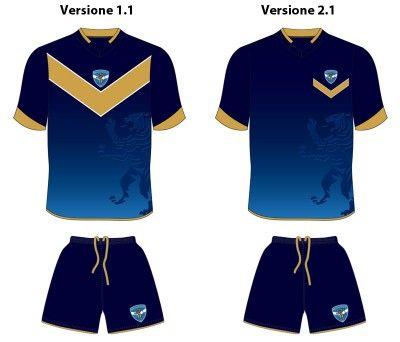 Brescia sondaggio terza maglia - Proposta 3