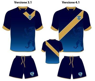 Brescia sondaggio terza maglia - Proposta 4