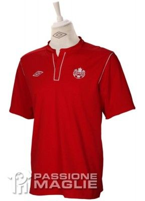 Canada prima maglia 2012 Umbro