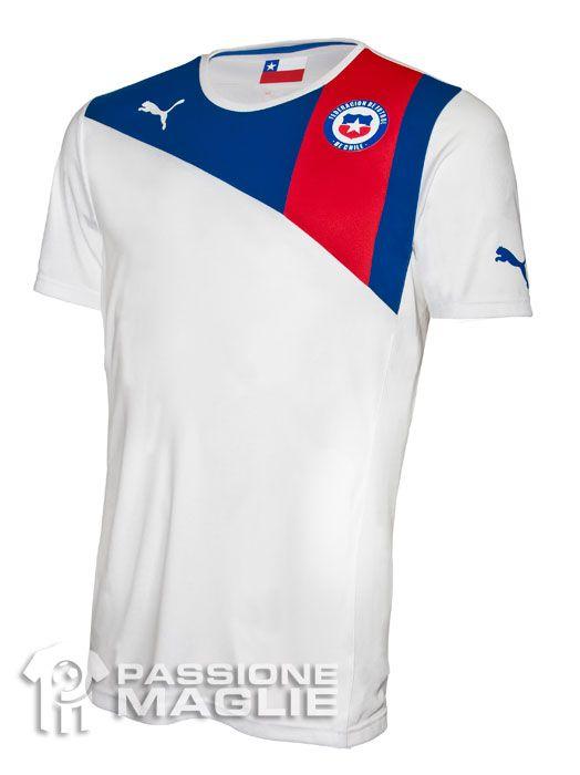 Cile seconda maglia 2012-2013