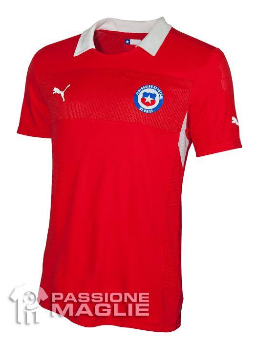 Cile prima maglia Puma 2012-2013