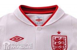 Colletto maglia Inghilterra 2012