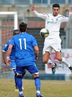 Un momento di Como-Foligno in Lega Pro