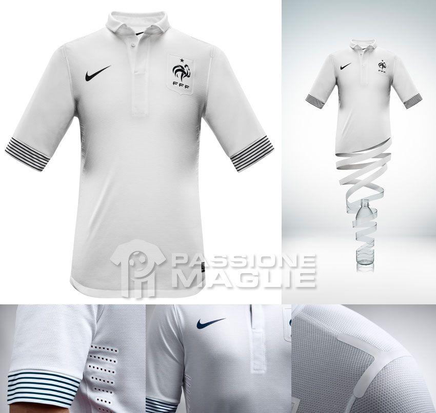 Francia seconda maglia 2012-2013 Nike