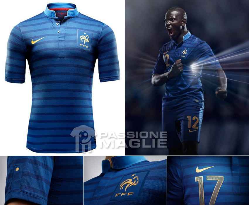 Francia prima maglia Europei 2012
