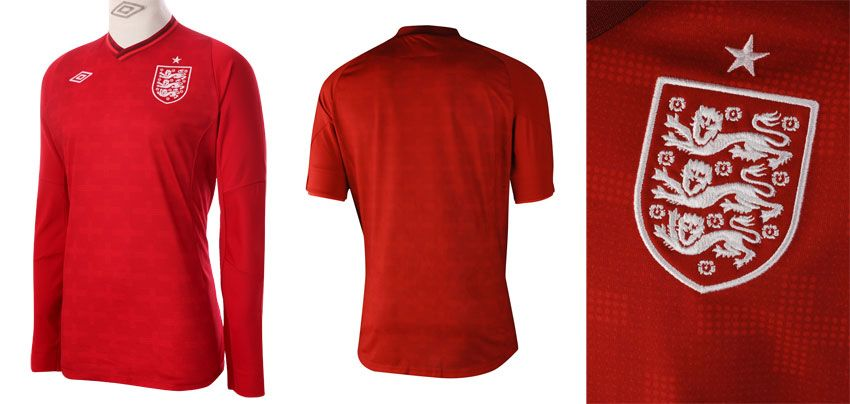 Inghilterra maglia portiere 2012 Umbro