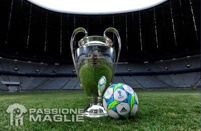 Il pallone adidas Finale Munich per la Champions