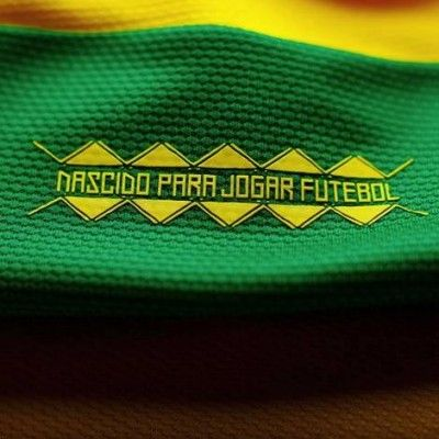 Nascido Para Jogar Futebol maglia Brasile