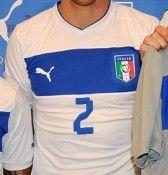 Numero modificato maglia Italia 2012