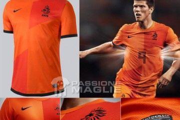 Olanda prima maglia Nike 2012-2013