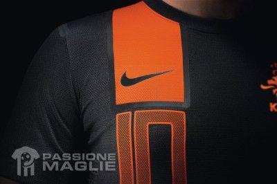 Numero seconda maglia Olanda 2012