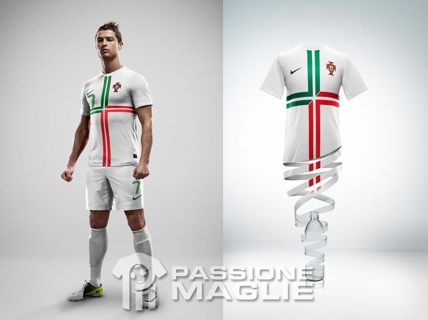 Portogallo seconda maglia Nike 2012-2013