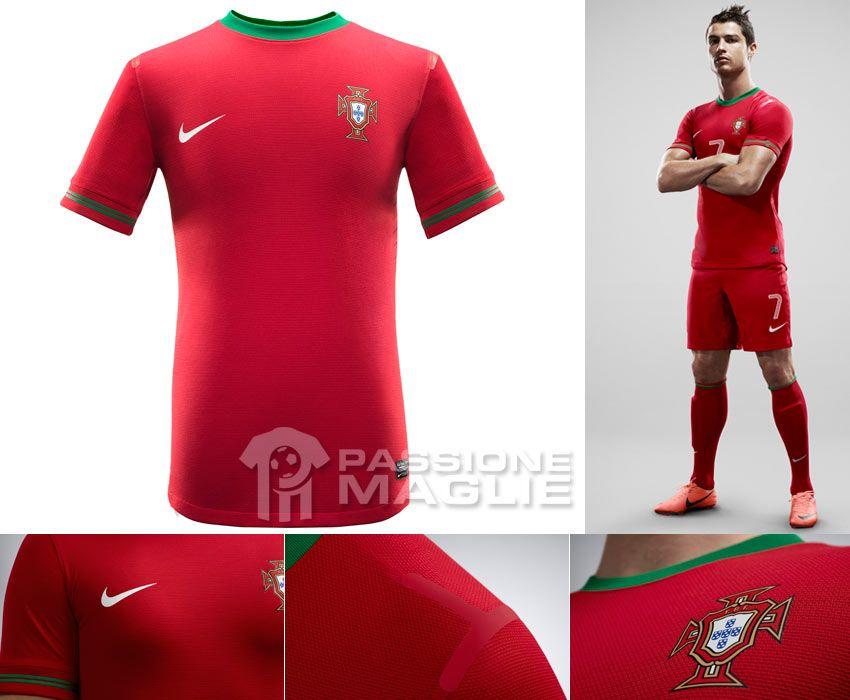 Portogallo prima maglia 2012-2013 Nike
