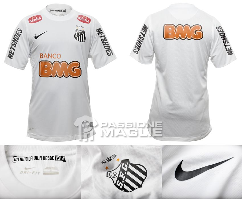 Santos prima maglia 2012 Nike