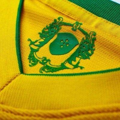 La stampa dell'artista Don Torrelly sulla maglia del Brasile