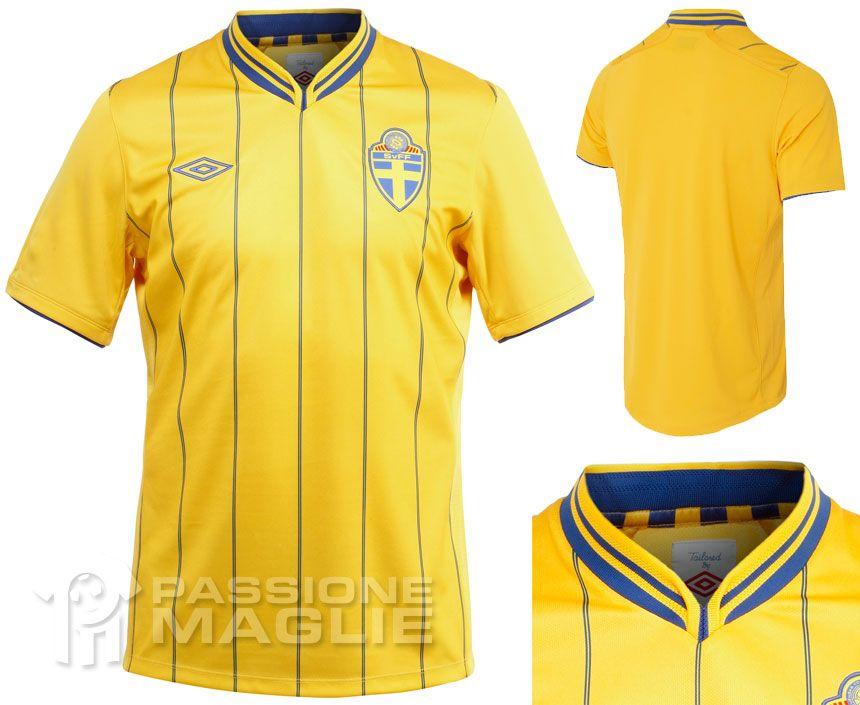 Svezia prima maglia 2012-2013