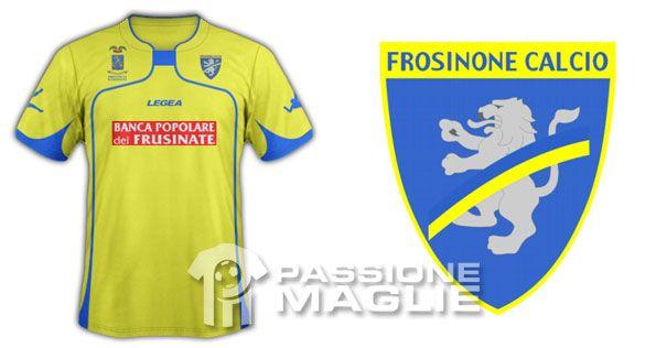 Frosinone prima maglia Legea 2011-12
