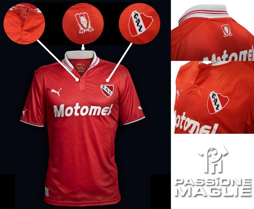 Independiente prima maglia 2012 Puma