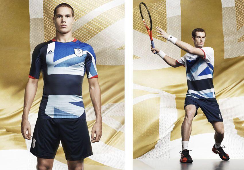 Divise Gran Bretagna di calcio e tennis Olimpiadi 2012