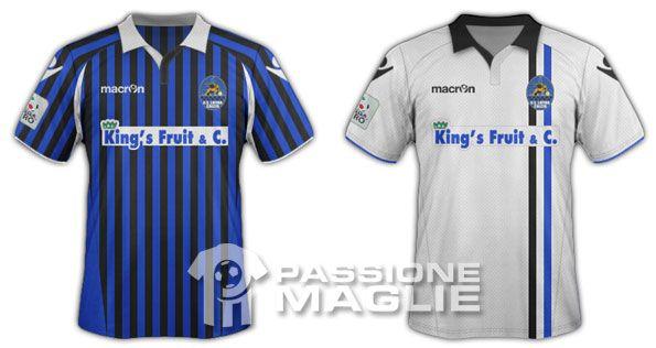 Le maglie del Latina Calcio 2011-2012