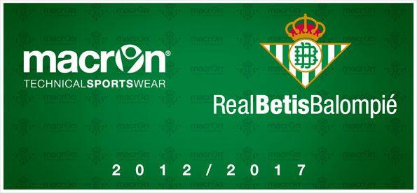 Macron sponsor tecnico Betis
