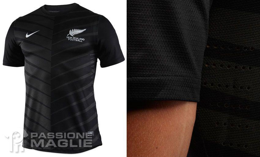 Nuova Zelanda seconda maglia 2012-2013 Nike