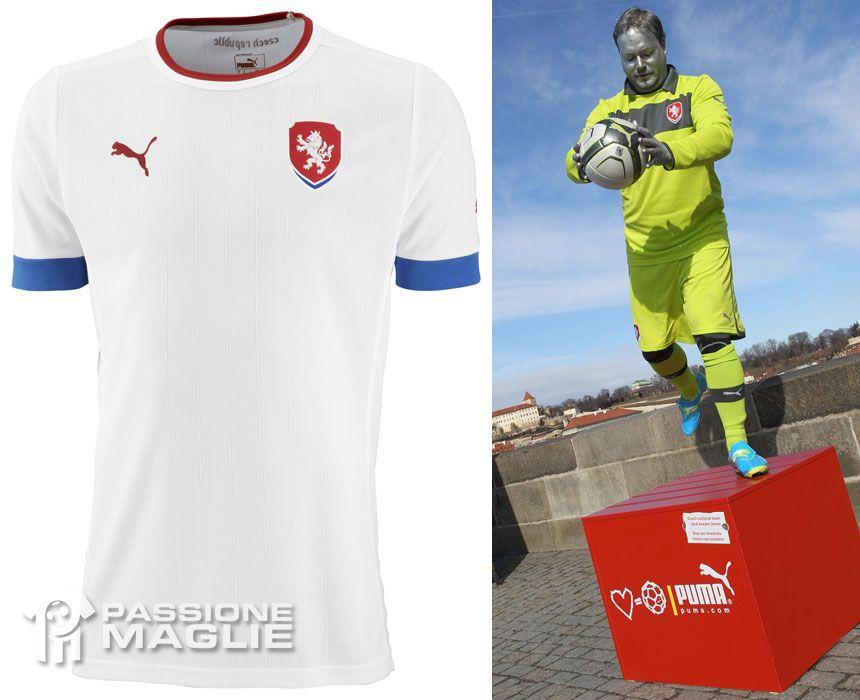 Repubblica Ceca seconda maglia 2012 Puma