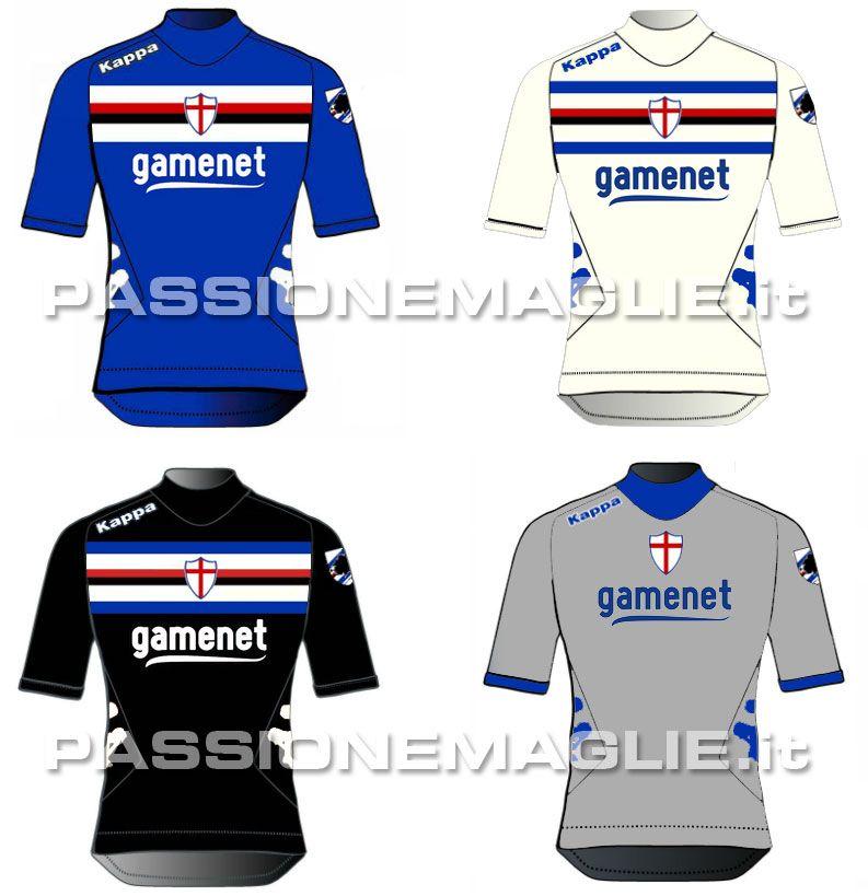 Probabili divise Sampdoria 2012-2013