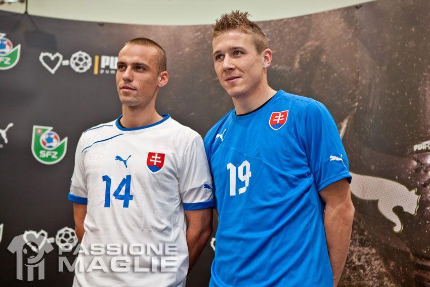 Slovacchia maglie 2012-13 Puma