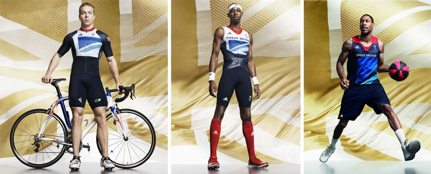 Kit atletica, ciclismo e basket GB Londra 2012