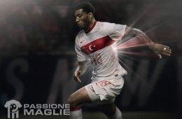 Turchia seconda maglia Nike 2012-2013