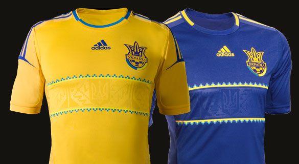 Ucraina kits 2012 adidas