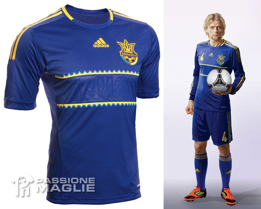Ucraina maglia away Europei 2012