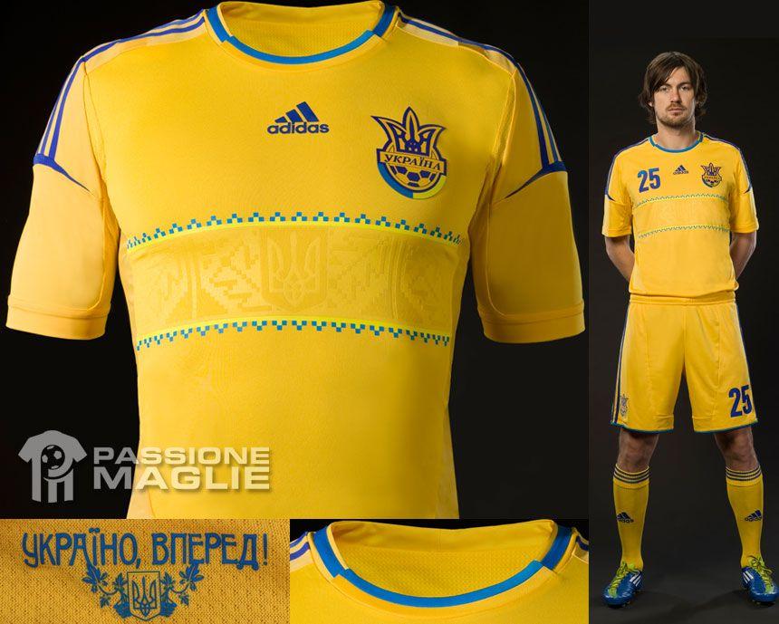 Ucraina prima maglia 2012-2013 adidas