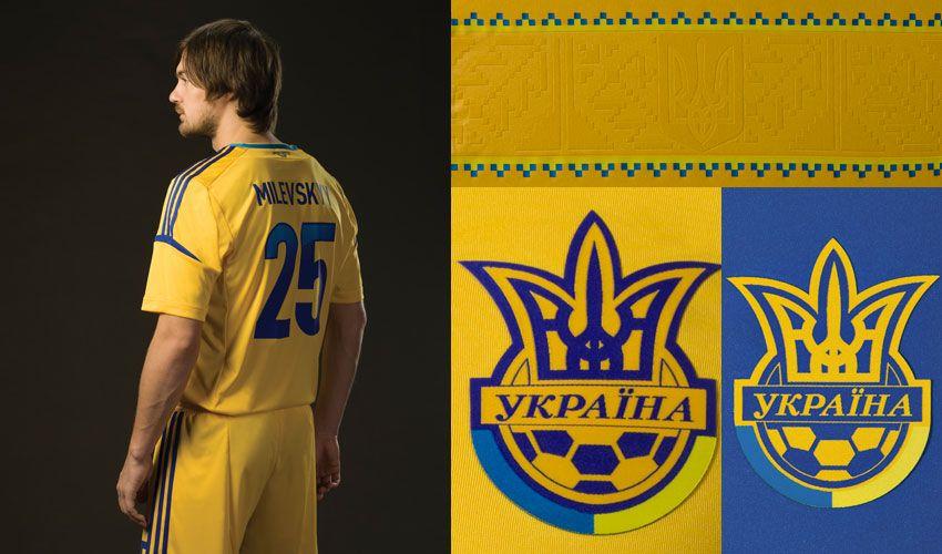 Particolari maglie Ucraina 2012-2013