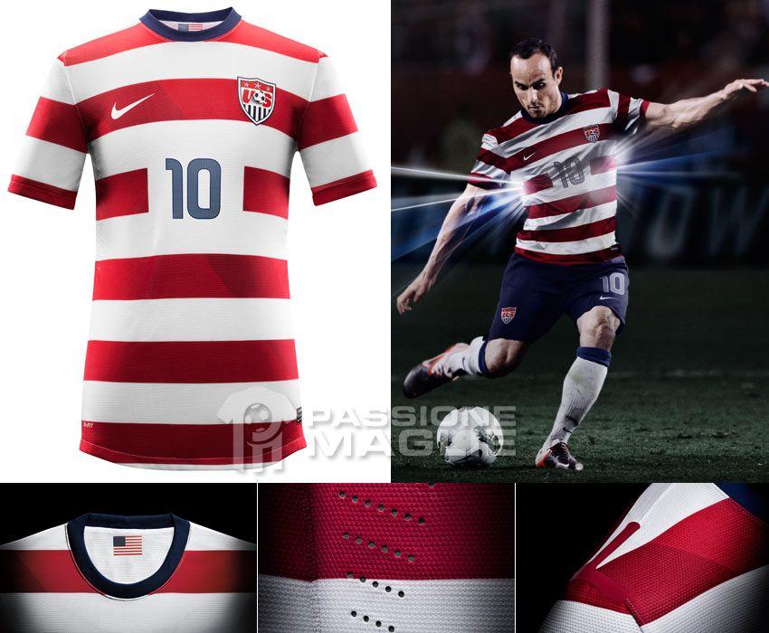 Stati Uniti USA maglia home 2012-2013