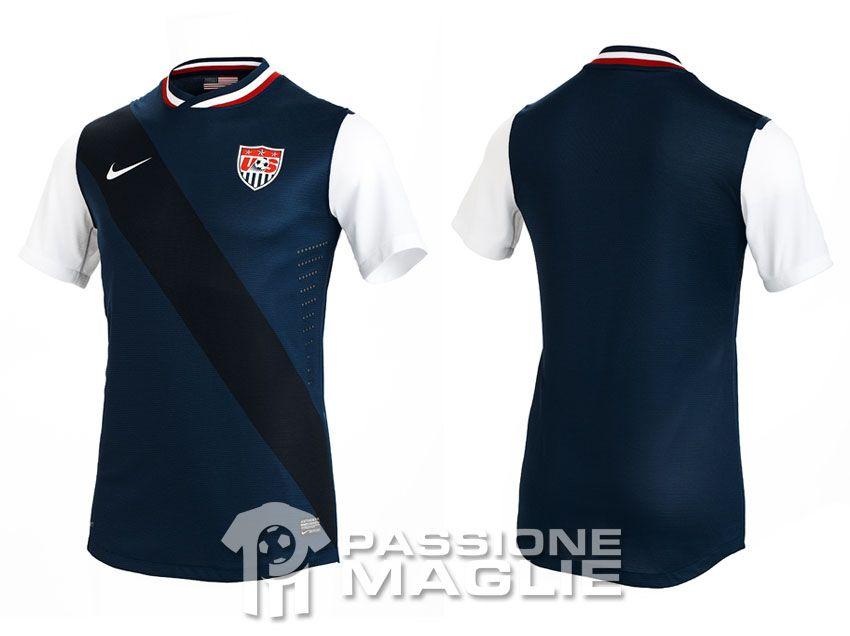 Stati Uniti seconda maglia 2012-2013 Nike