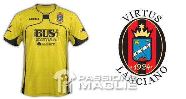 Virtus Lanciano terza maglia 2011-2012