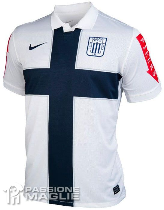 Alianza Lima maglia crociata 2012