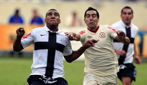 Derby Alianza Lima-Universitario 2012
