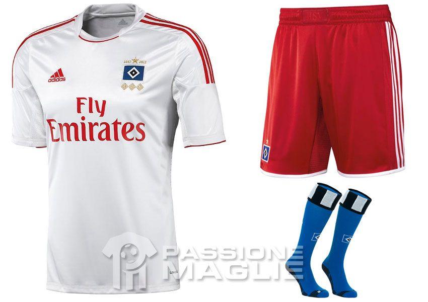 Amburgo maglia 125 anni adidas 2012-2013