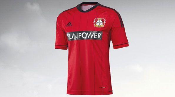 Prima maglia Bayer Leverkusen adidas 2012-13