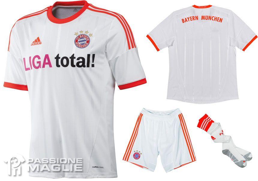 Bayern Monaco seconda maglia 2012-2013